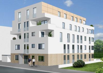 Vorderseite - Stadtdomizil-Mitte Bielefeld